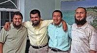 The four Uighurs released in Bermuda, June 2009