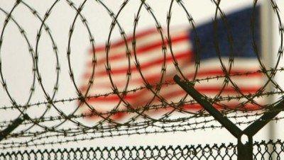 The US flag at Guantanamo.