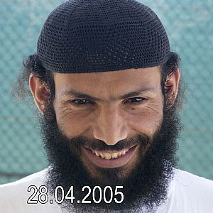 Guantanamo prisoner Yassin Ismail (aka Yassim Qasim), a Yemeni, in a photo included in the classified military files released by WikiLeaks in 2011.