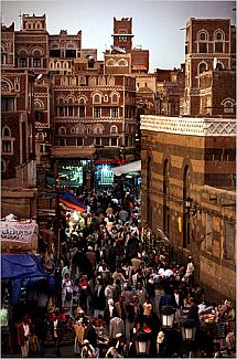 Sana'a, Yemen (Photo: Evelyn Hockstein for The New York Times)