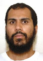 Guantanamo prisoner Zaher Hamdoun (aka Zaher bin Hamdoun) in a photo included in the classified military files released by WikiLeaks in 2011.