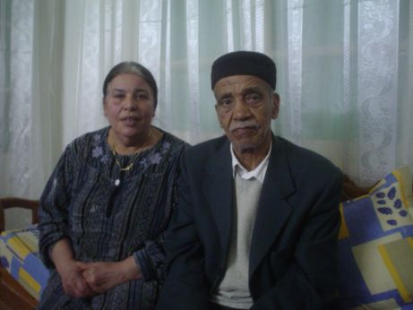 Hisham Sliti's parents