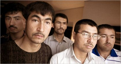 The five Uighurs released in Albania in 2006